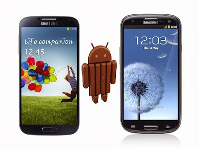 Galaxy S3 and Galaxy S4 Android 4.4 KitKat