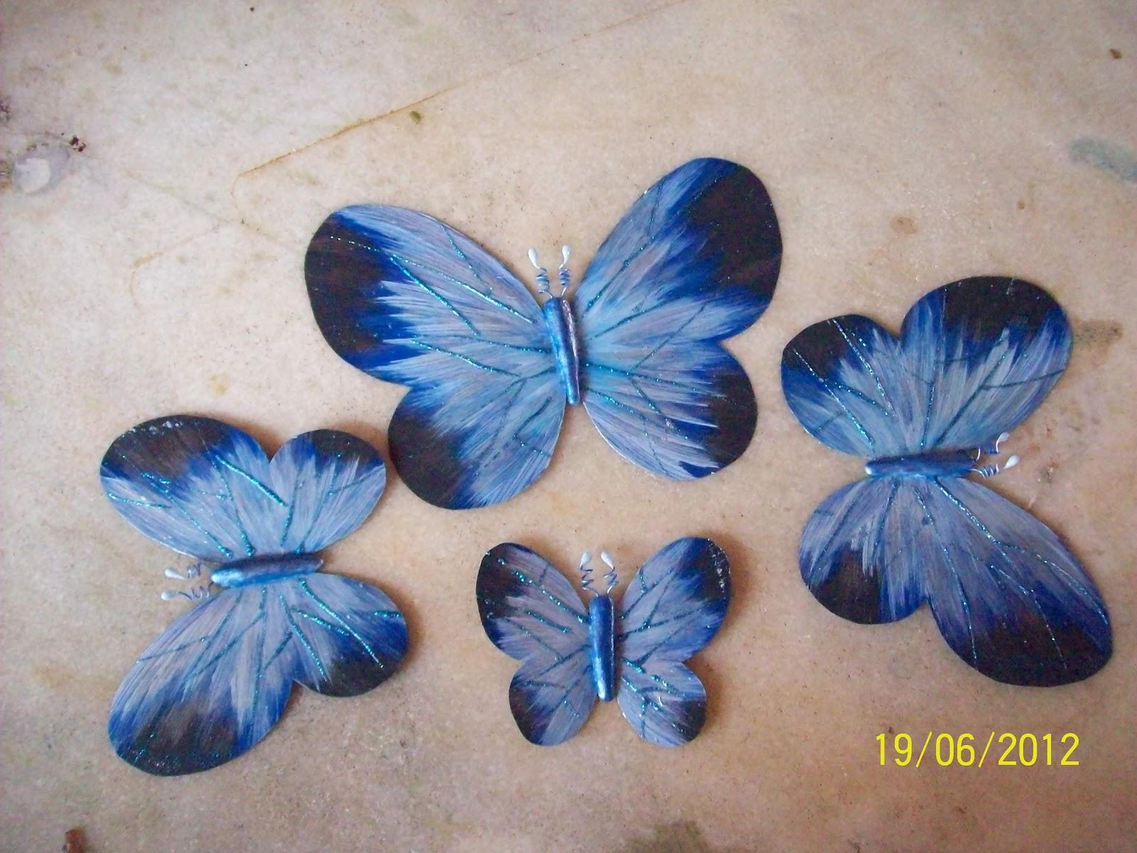 Papillon Artesanato Borboletas De Garrafa Pet