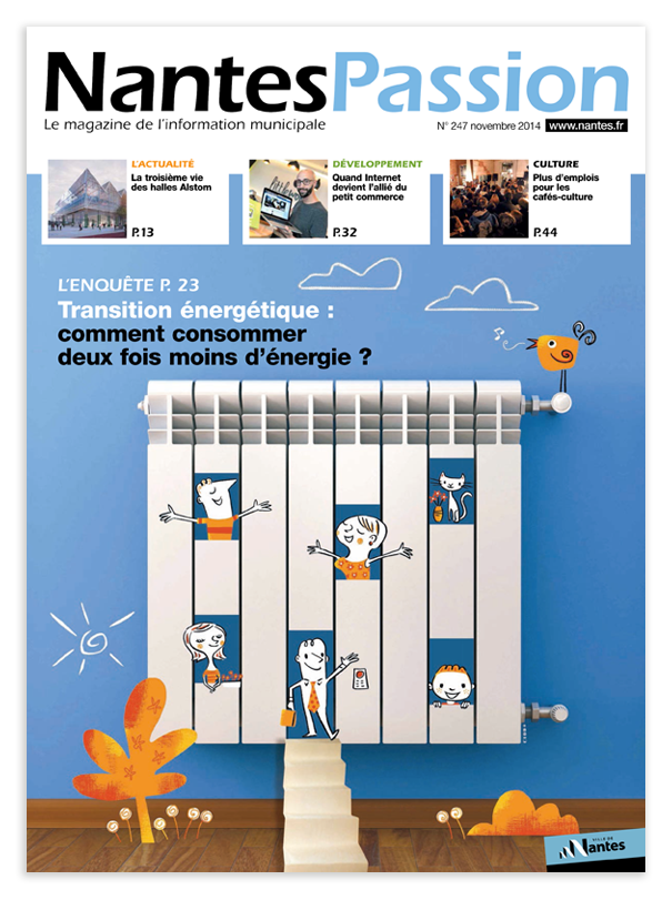 Illustration couverture Nantes Passion
