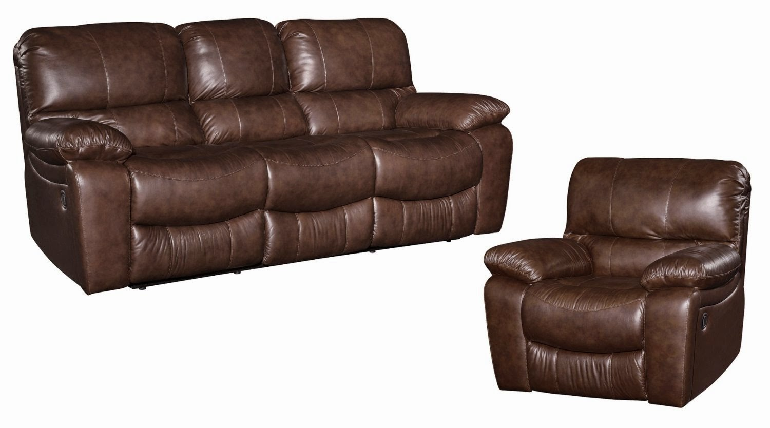 Reclining Sofa Sets Sale: Leather Recliner Sofa Sets