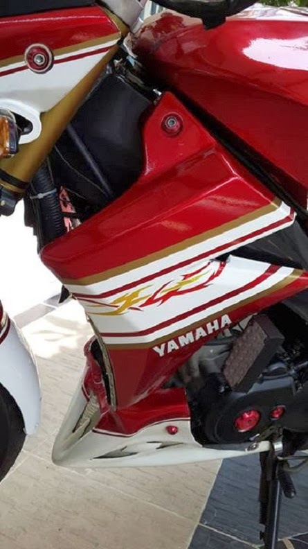 Modifikasi Lampu Yamaha Vixion 2013