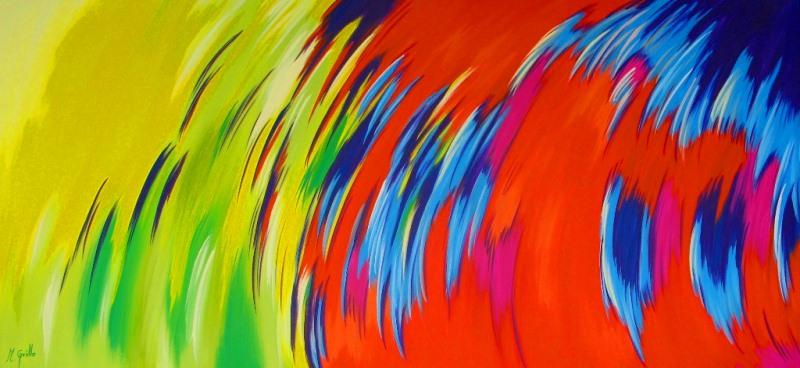 Cuadros modernos cuadros bonitos abstractos modernos - Cuadros de colores ...