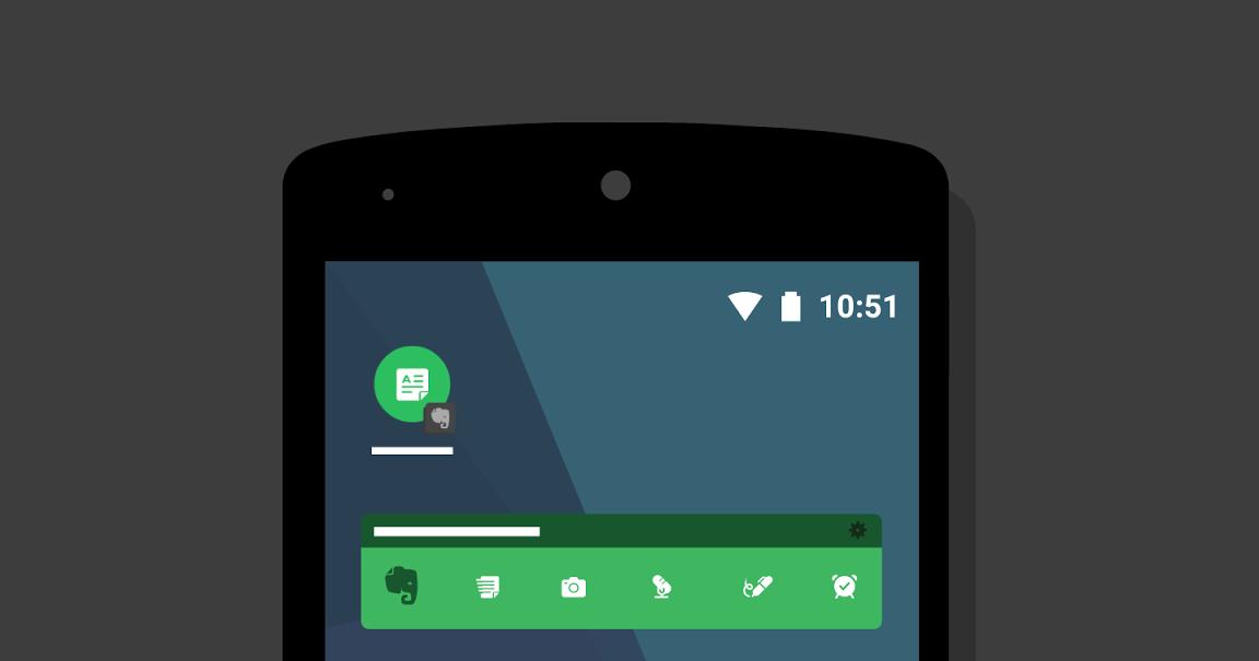 Evernote Android 桌面筆記工具更新了!更好看便捷