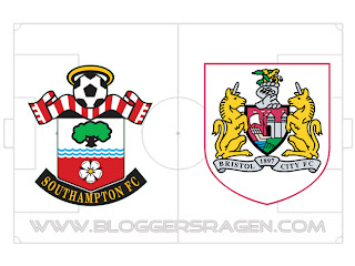Pertandingan Southampton vs Bristol City