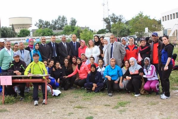 أكاديمية فاس بولمان إعطاء انطلاقة اختبارات مادة التربية البدنية بالنسبة للمترشحين الأحرار دورة 2014-2015