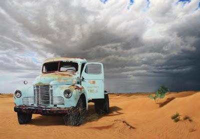 carro-en-desierto