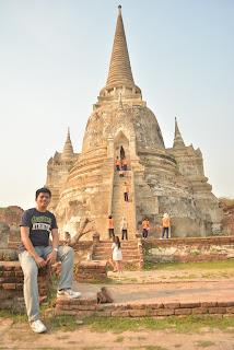Wat Sri Sanphet view