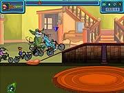 Game Oggy đua xe đạp - Trò chơi game Oggy online