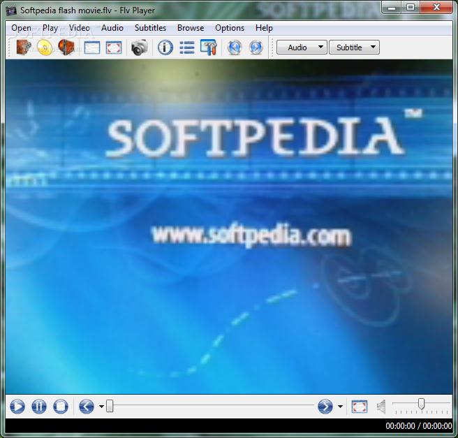 برنامج تشغيل فيديو FLV FLV Player 2011 1.1