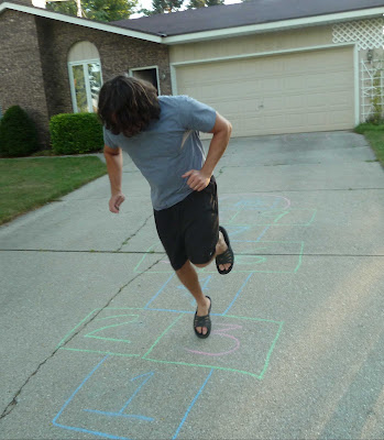 Winning at Hopscotch