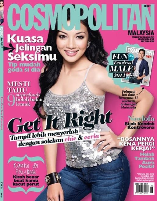 neelofa cosmopolitan jun 2012