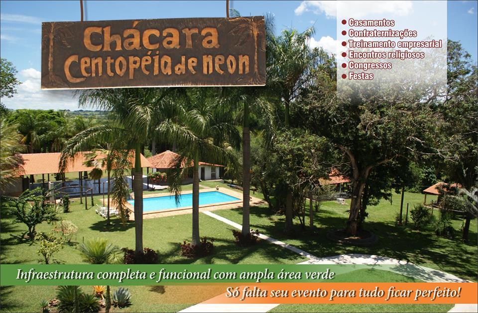 Chácara Centopeia Neon