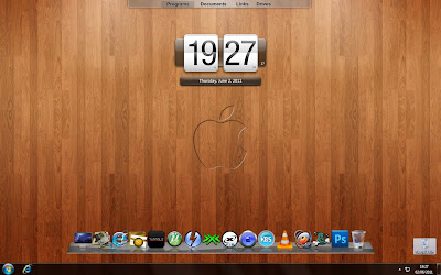 Apple Mac theme Pack for Windows 7