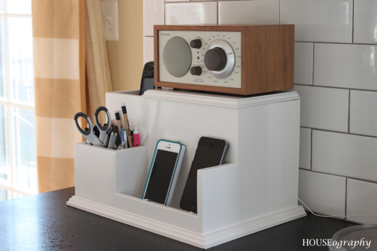 Centralized Charging Station {Kitchen}