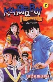 Komik Anime KUNGFU BOY Legends