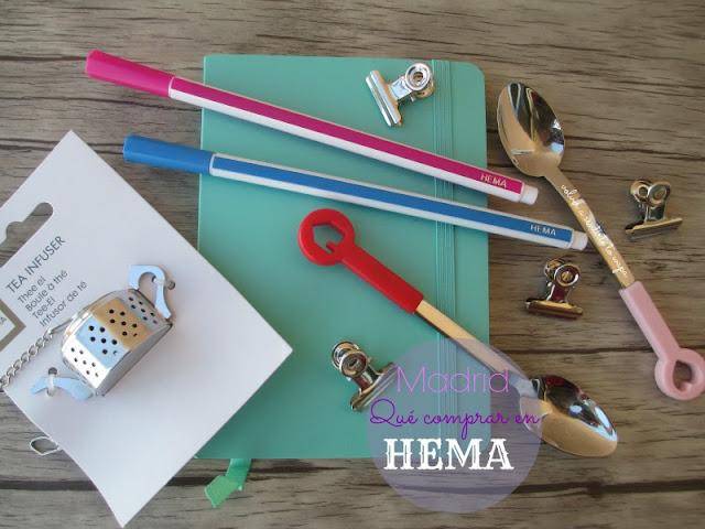 Qué comprar en HEMA - Madrid