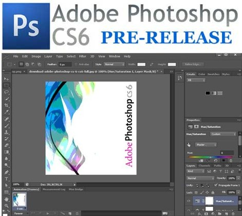 Adobe Photoshop CS6 v13.0 Pre Release *INCL.KEYMAKER*