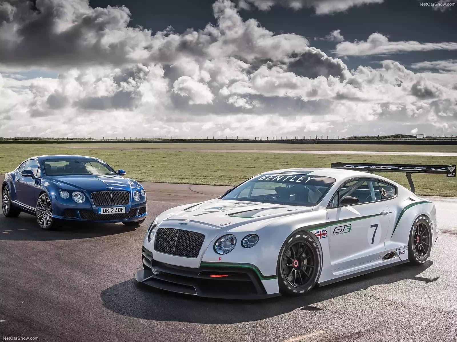 Hình ảnh xe ô tô Bentley Continental GT3 Concept 2012 & nội ngoại thất