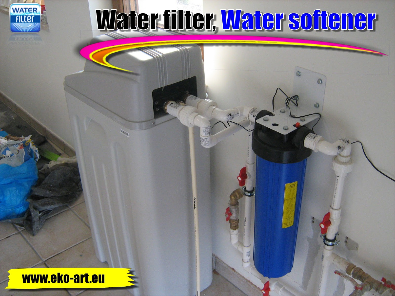 Water filters clean water for every for Water softener for 4 bedroom house