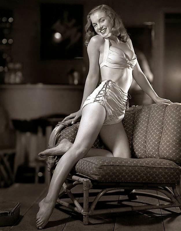 Marilyn Monroe by Norma Jean, 1945