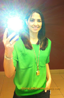 Ann Taylor Green Top