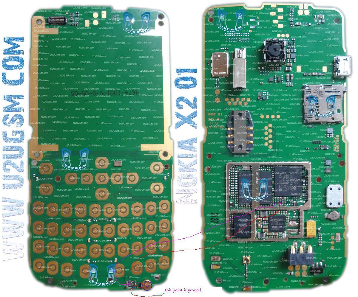 nokia x2-01 mic solution