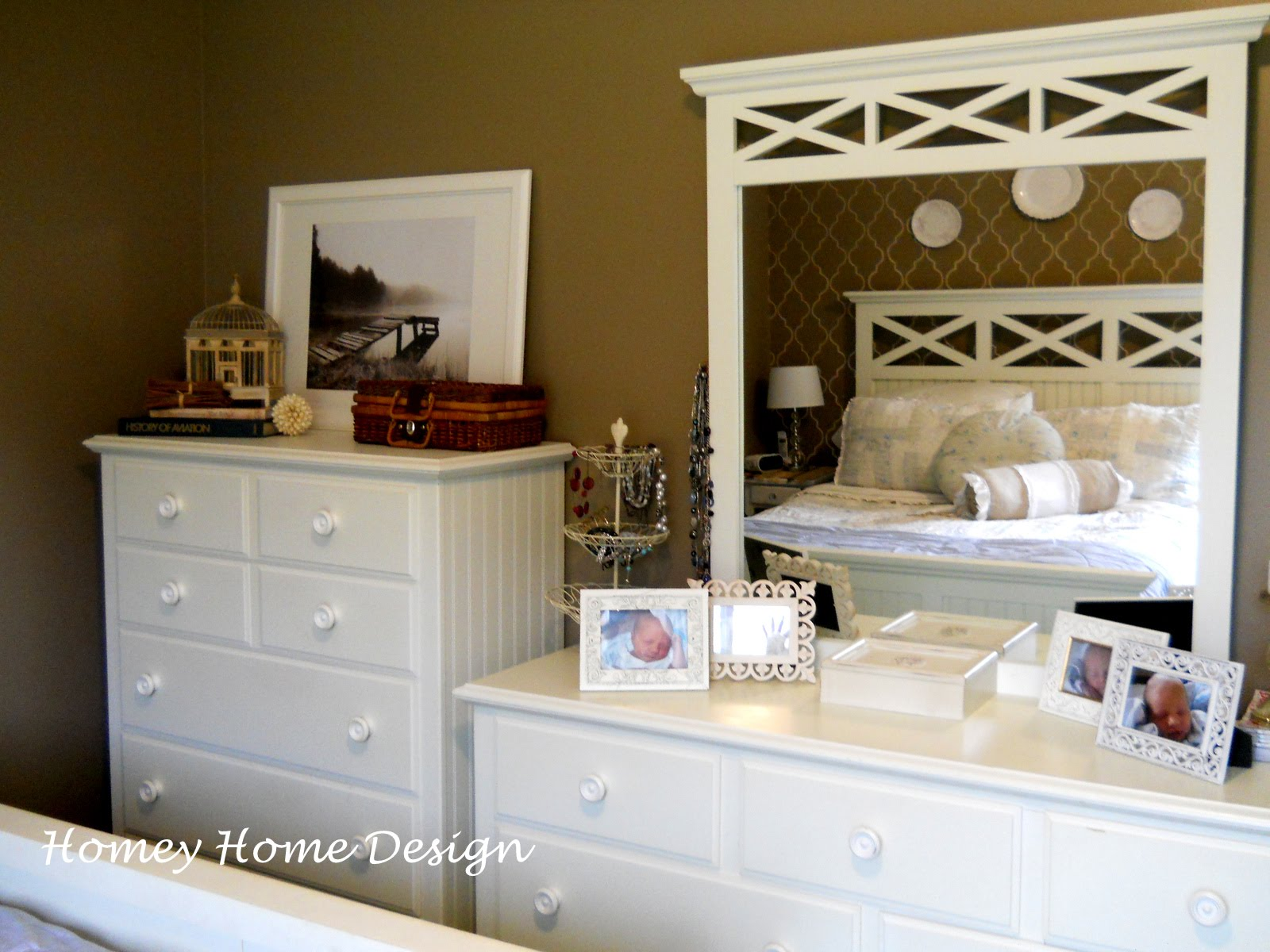homey home design dresser decor