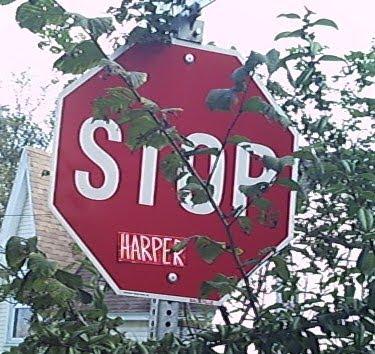 stop harper .. stop communitarians