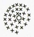Брошка-цветок, связанная крючком: описание работы и схема вязания