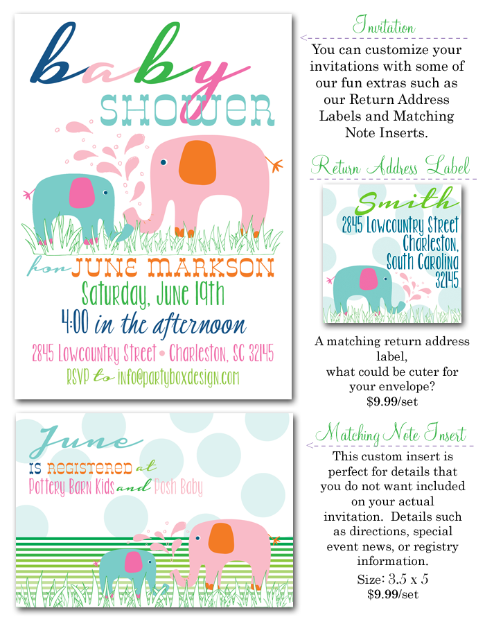 http://www.partyboxdesign.com/item_1623/Elephant-Baby-Girl-Shower.htm