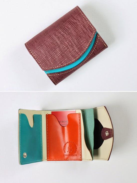 小さい財布 アサガオ