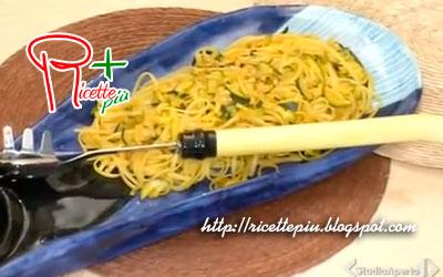 Linguine con Vongole Zucchine e Zafferano di Cotto e Mangiato