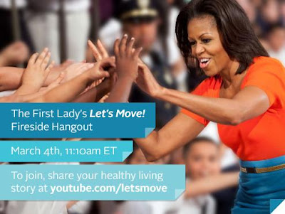 Fireside Hangouts: Join First Lady