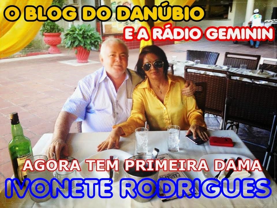 Danúbio José E primeira DAMA