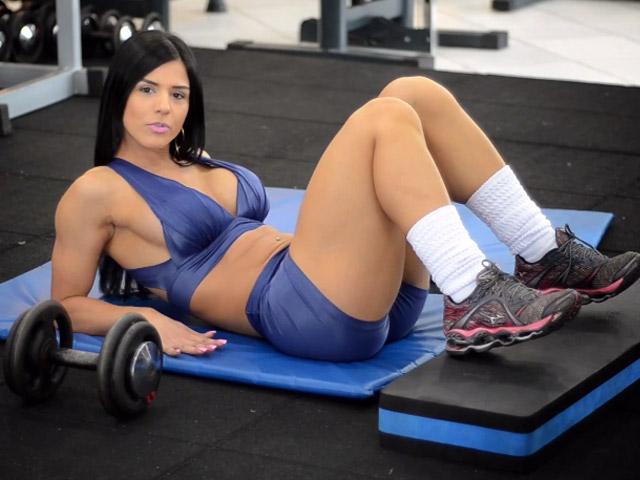 Eva Andressa. Foto: Reprodução/You Tube