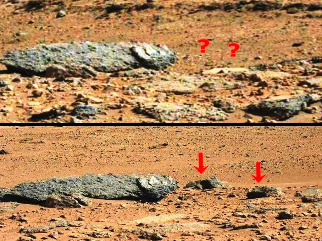 Mars Rover Curiosity images show mysterious rocks that ...