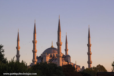 Mezquita azul Estambul - Viaje a Turquia
