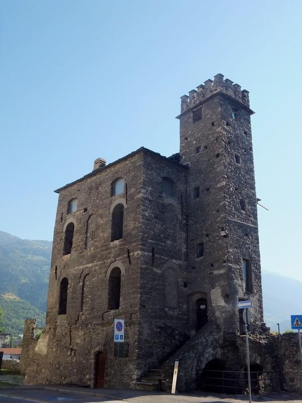 Aoste Aosta Italie tour du lépreux