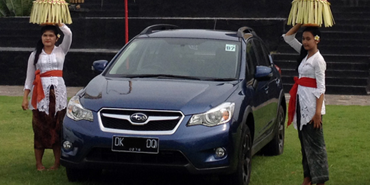 Test Drive The Unique Advantages Subaru XV 2013