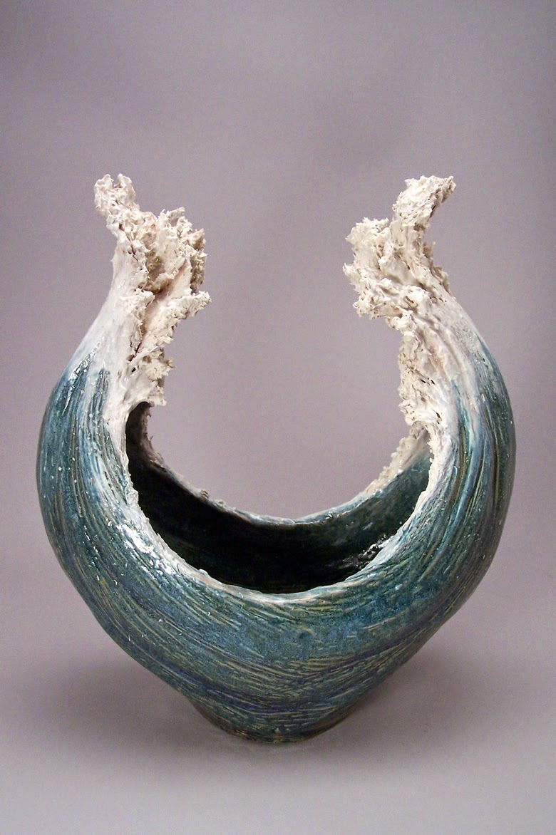 Simply creative ocean inspired ceramic sculptures by for Cool ceramic art
