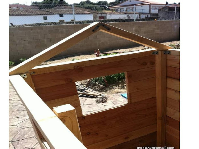 El blog de la elena un blog dulce divertido y for Como hacer caseta de madera para jardin