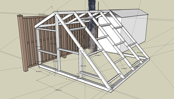 Google Sketchup as an Urban Homesteading Tool | Root Simple