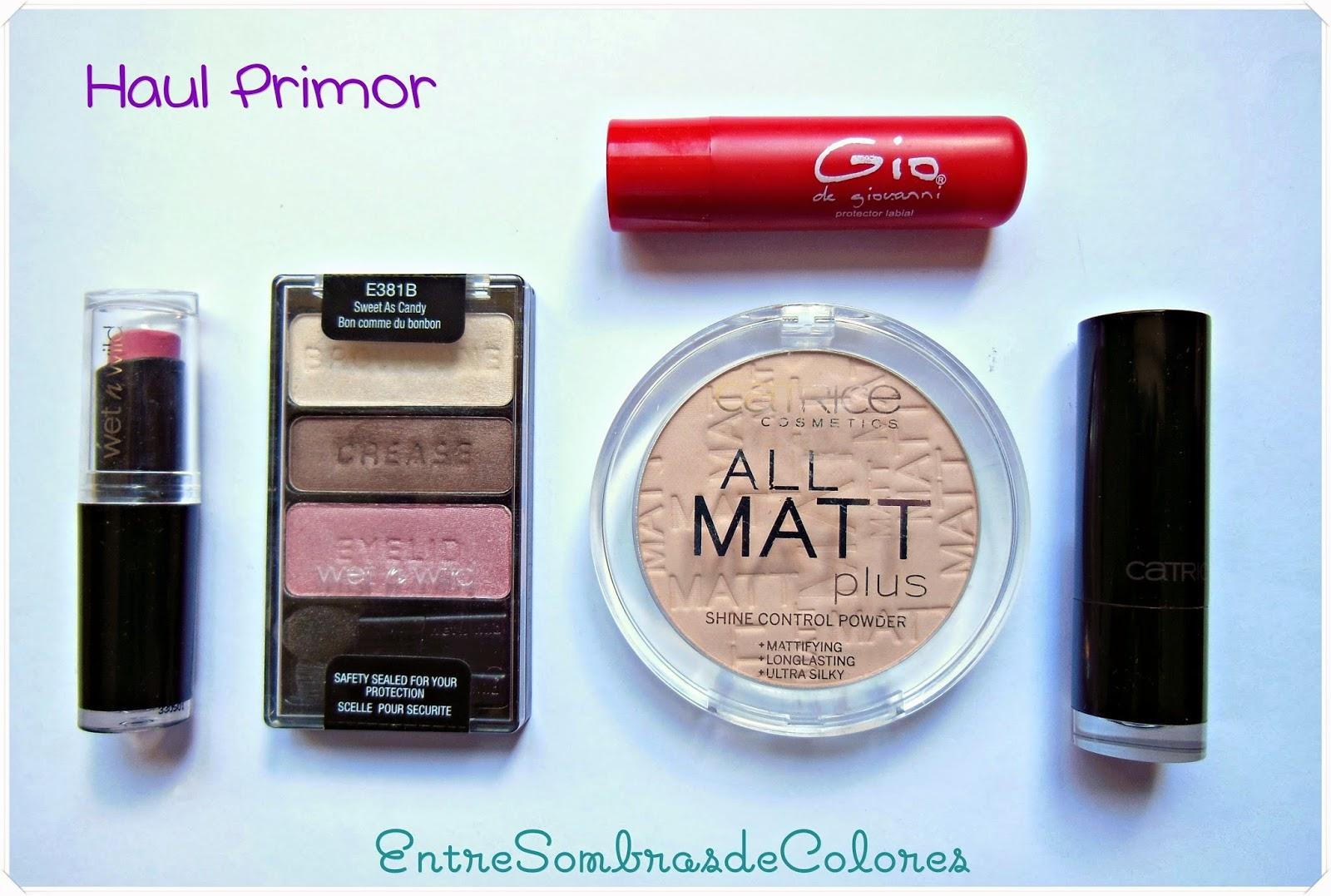 Haul Primor maquillaje