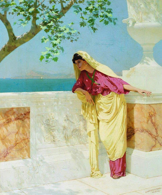 Stepan Vladislavovich Bakalovich: Greek woman by the sea
