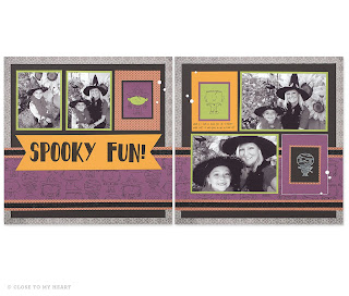 CTMH Nevermore Halloween Paper Pack