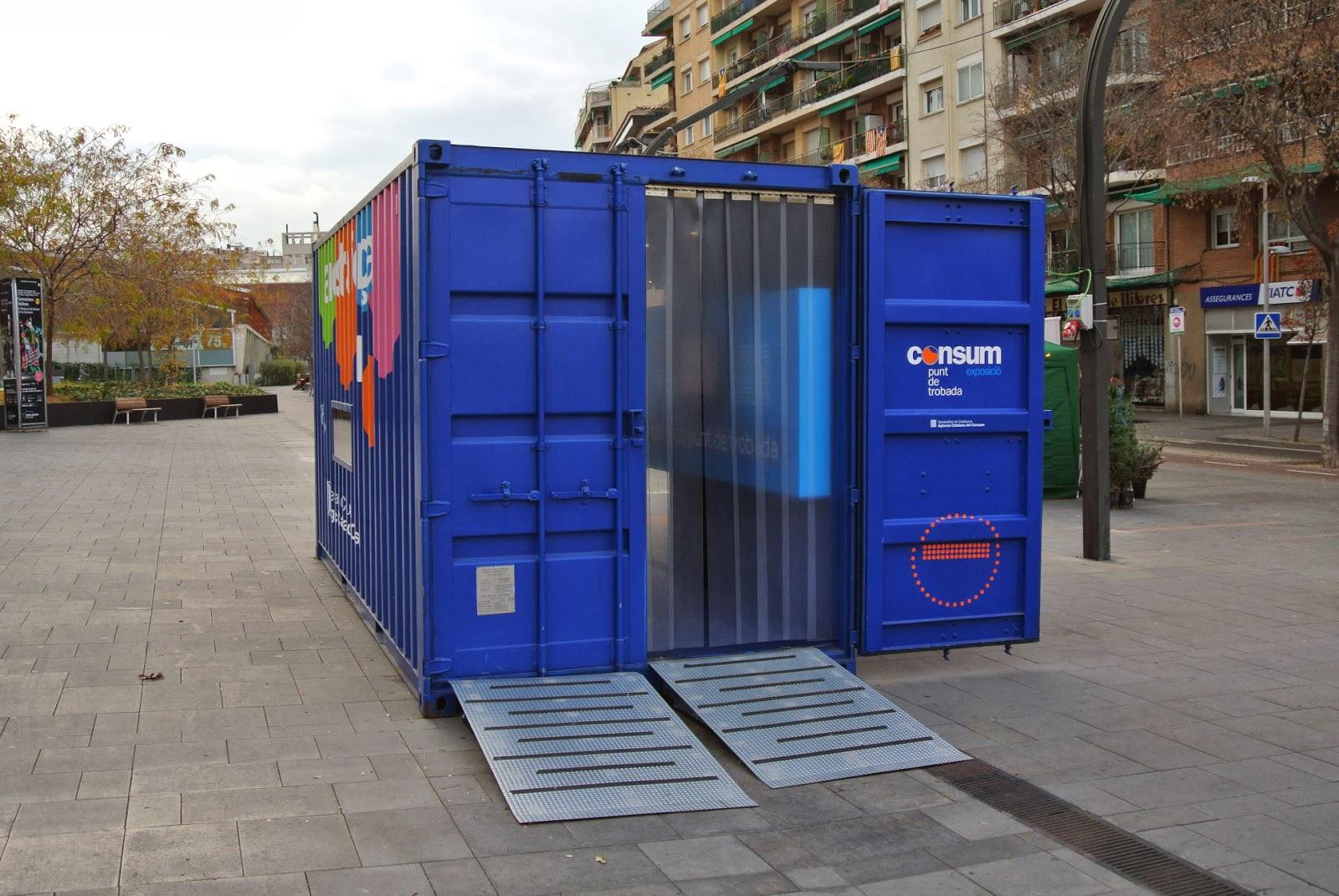 Casas contenedores containers marinos habilitados como expositores en sant cugat del vall s - Casas en contenedores marinos ...