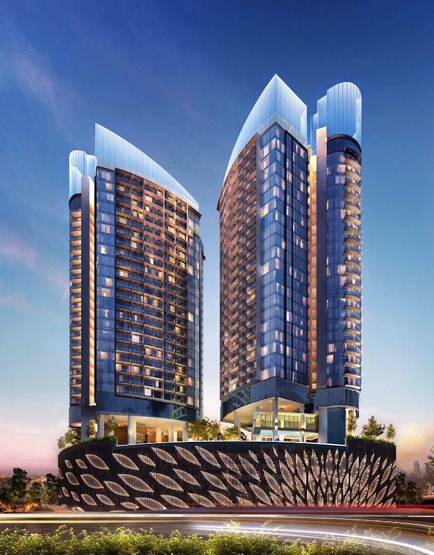 DC Residency - The ICONIC integrated development at Damansara Heights, Kuala Lumpur by Guocoland Malaysia