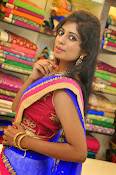 Mounika Reddy Glam pics in Half saree-thumbnail-8