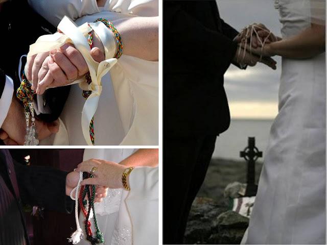 rituale handfasting matrimonio celtico