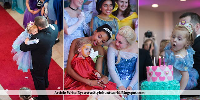 Five-year-old Girl With Terminal Cancer Gets A Spectacular Birthday Party, Prom And Wedding All Rolled Into One
